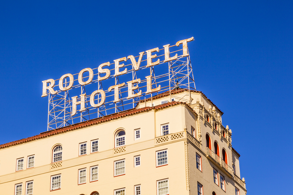 Hotel Roosevelt, Hollywood, Los Angeles