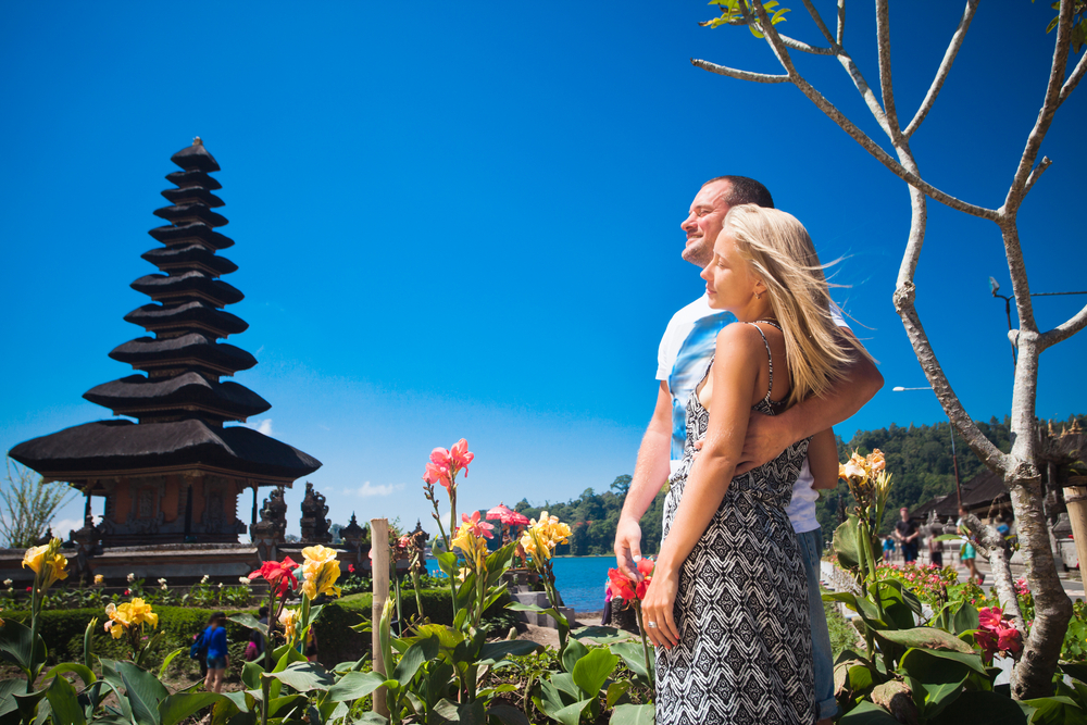Bali from the eyes of a romantic couple